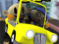 Jogo Online - Sim Taxi em sua 2º versão, Recolha o máximo de passageiros em seu taxi, leve-os em seus destinos para que você possa ganhar dinheiro e assim melhorar o seu veículo, tome cuidado com o transito e evite bater nos outros carros. Divirta-se!