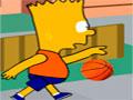 Simpson Basketball - Ajude Bart a realizar seu sonho ser um jogador de basquete. Calcule a força e distância necessária para acertar a bola dentro da cesta e marcar muitos pontos.