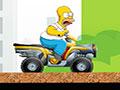Simpsons Starving Rush - Controle a moto como o Homer Simpson faminto. Acelere fundo recolhendo todos os hamburgers do cenário, seja ágil e veloz para completar toda a fase sem deixar o personagem cair.