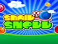 Snal Shell - Desça as conchas de caracol para formar grupos. Seja ágil para completar o maior números de pedras possíveis antes que o tempo se esgote.
