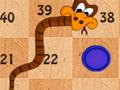 Snake And Ladder - Lance dados e veja quantas casa você te que andar. Tenha cuidado para não parar na cabeça da serpente pois irá automaticamente para calda, então tenha uma boa sorte.