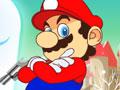 O cl�ssico Mario Bros com uma arma que atira bolas de neve. Sua miss�o � ajudar a resgatar a princesa, quando avistar o inimigo atire at� envolve-lo de neve para que ele saia rolando e voc� continue a prosseguir no jogo.