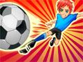 Jogo - Soccer Sensation, Prepare-se para entrar em um campo de futebol e driblar todos os seus adversários, Seja um atleta com muitas habilidades e não deixe que nenhum jogador impeça você de fazer muitos Gols. Complete este game sendo um verdadeiro vitorioso.
