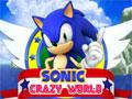Sonic Crazy World - Entre na aventura com Sonic Crazy pelo mundo. Recolha todas as moedas que encontrar pelo caminho saltando sobre os obstáculos, assim conquiste os 10 níveis disponíveis nesse game.