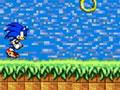 Jogo Sonic Jumper, Sua missão neste jogo é atingir o ponto mais alto do cenário, pule com o Sonic pelas moedas para atingir o local mais distante que você conseguir, divirta-se e acumule muitos pontos.