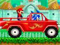 Sonic Saves Mario - Ajude o Sonic em sua nova missão. Encare o desafio levando o Mario até o seu destino, recolha o maior número de moedas possíveis e marque muito pontos. Divirta-se com essa aventura com Sonic e Mario.