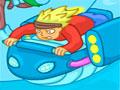 Space Punk Racer - Pilote sua moto em diversos cenários sem colidir. Recolha dinheiro que vão aparecendo pelo caminho para comprar novos equipamentos, deixando seu veículo mais veloz.