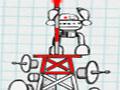 Space Tower - Posicione os blocos para formar uma torre firme. Coloque as peças com segurança sobre a plataforma e alcance a altura necessária em cada estágio.