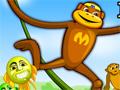 Você precisa ajudar o Macaco-Aranha a resgatar os seus amigos e pegar bananas entre os galhos, pule de galho em galho e tome muito cuidado para não cair entre os galhos.