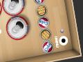 Jogo SpinBall, Conduza a bola até o buraco para conseguir completar todos os níveis deste game. Gire o cenário do jogo e passe por todo o labirinto rapidamente e com muita habilidade para acumular muitos pontos.