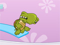 Splash Around, uma pequena tartaruga precisa da sua ajuda para fazer um incrível salto pelo trampolim da banheira, quanto mais alto você conseguir chegar mais pontos irá marcar, divirta-se!
