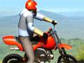 Jogo - Spring Bike, Coloque em pratica seus conhecimentos ao pilotar moto em caminhos cheio de desafios. Neste game você esta em um cenário totalmente florestal, cheio de arvores, Pedras e obstáculos. Seja um piloto eficiente e complete todos os níveis do jogo.