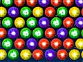 Star Bubbles - Com seu canhão mire sobre as bolhas para retirar do cenário. Seu objetivo é eliminar os grupos com a mesma cor da bola, seja ágil para que elas não encoste da parte de baixo da tela.