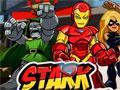 Jogo Online - Stark Tower Defense Marvel, Coloque os super-heróis da Marvel em locais no topo dos edifícios e seja estratégico para o ataque com todos os inimigos que querem invadir a cidade. Seja rápido e complete os 20 níveis que estão disponíveis neste interessante game de super-heróis!