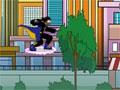 Jogo Static Shock, acabe com todos os seus inimigos que estão atacando a sua cidade, com seus poderes e com o seu super Skate, você irá conseguir completar sua tarefa e acabar com tudo e todos que estiver na sua frente.