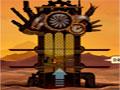 Steampunk Tower - Controle uma torre de defesa usando todos os armamentos disponíveis.  Mire e atire nos inimigos que vem por ambos os lados, atualize suas armas para se tornar invencível.