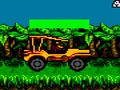 Steel And Fire - Mostre toda sua habilidade ao volante. Pilote um jipe pela mata, tendo cuidado com as descidas e obstáculos que poderão aparecer pelo seu caminho.