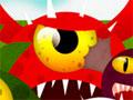 Sticky Monsters - Ajude os monstros a recuperar as p�ginas do livro. Clique neles para come�ar a se movimentar at� chegar ao alvo, ao longo dos n�veis voc� vai desbloqueando b�nus extras.