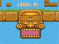 Jogo Online - Stoner, Um novo game puzzle feito para testar suas habilidades, seu objetivo é mover todos os blocos que são lançados pelo totem, você consegue elimina-los a cada três peças semelhantes, Seja rápido e não deixe as pedras acumularem sobre o cenário.
