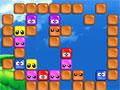 Super Blux, seu objetivo neste jogo sera juntar todas as peças que representa uma mesma cor para poder eliminá-las do jogo, use o seu raciocínio e tome muito cuidado para não realizar jogadas que impeça com que as cores fiquem juntas.