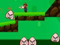 Super Mario Gun Adventure - Se aventure com o Mario Bros pelo cenário. Mire e atire nos inimigos utilizando as bombas para eliminar cada monstro, salte sobre as plataformas e desvie de alguns obstáculos.