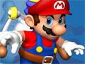 Jogo - Super Mario Ice Tower, Ajude o encanador mais famoso dos games a escalar toda a torre e recolher as moedas que estão espalhadas pelo caminho, seja rápido pois o Bowser fez um sistema no qual o cenário sobe com o objetivo de acabar com você.