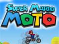 Jogo Super Mario Moto, Nosso amigo Mario acabou de comprar uma moto, sua missão é ajuda-lo a passar por diversos obstáculos, realizando manobras incríveis, recolha todas as moedas que estiver em seu caminho, tome muito cuidado para não capotar.