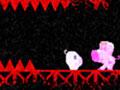 Super Pig - Pinte os níveis invisiveis com seu próprio sangue. Você tem que fazer com que o Pig chegue até sua amada antes que ele perca todas as suas vidas disponíveis.