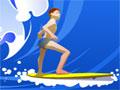 Que tal pegar umas ondas radicais com sua maior especialidade que é o Surf?, Escolha o seu personagem e suba na sua prancha para arrasar com suas incríveis manobras, ganhe muitos pontos até o final de cada jogo.