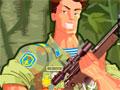 Survive Crisis - Sua equipe e você estão na guerra e terão que eliminar os soldados inimigos. Tenha uma mira precisa para acertar os alvos de longe e completar sua missão em cada estágio.