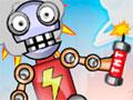 TNT Robots - O mundo está prestes a ser dominado por robôs. Posicione os explosivos pelo cenário para detonar todos os alvos, use a lógica para que tudo ocorra perfeitamente.