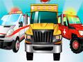 Medical Team Havoc - Escolha um dos três veículo para começar sua missão. Mostre suas habilidades coletando as moedas pela pista transportando os pacientes com muita segurança, acumulando muitos pontos para fazer melhorias no seu veículo.