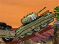 Tank Mania - Use seu tanque e destrua tudo que há pelo seu caminho. Passe pelos obstáculos com cuidado para que não ocorra acidentes e recolha as estrelas que valem pontos.