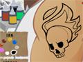Você foi convidado para concorrer a uma vaga de emprego em uma loja de tatuagens, hoje é o seu primeiro teste para conseguir mostrar a sua eficiência ao fazer os belos traços, pintar com perfeição e com certeza deixar o cliente satisfeito e conseguir manter a sua vaga.
