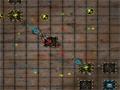 Entre na arena do inimigo e destrua todas as bases inimigas, mais tome muito cuidado com os tiros que são lançados contra a sua nave.