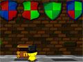 The Adventures Of Red - O Red precisa de sua ajuda em sua jornada cheia de aventura. Solucione os enigmas existentes no castelo para encontrar as chaves que abrirão as portas, para ele chegar até seu destino.