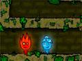 Jogo - The Forest Temple, Sua missão é controlar dois personagens simultaneamente, representados pelo Fogo (Menino), e Água (Menina), você deve levá-los até o portal de cada nível do game, tome cuidado que os personagens não podem passar pelas bases do outro.
