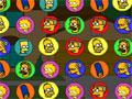 Jogo The Simpsons Bejeweled, Junte pelo menos 3 ou mais personagens dos Simpsons em uma mesma linha, somente assim você conseguira elimina-los do Jogo, seja rápido nas suas jogadas e ganhe muitos pontos.