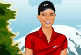 Jogo - Tiger Woods Dress Up, Elabora um novo visual para o golfista Tiger Woods, Sua missão é ser uma menina bem criativa nas suas escolhas, pois o Woods precisa impressionar todos os competidores com seu novo estilo. Divirta-se e imprima suas criações.