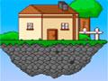 Tiny Island Adventure - Você mora em uma ilha que flutua e agora tem a oportunidade de explorar novos ares. Pule sobre as plataformas e ande por labirintos tendo cuidado com os obstáculos.