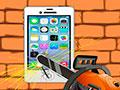 Torment iPhone - Encontre uma maneira de destruir o iPhone. Use os objetos disponíveis para conseguir detonar totalmente o aparelho, complete sua tarefa em menor tempo possível.
