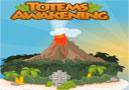 Totems Awakening - Ajude o homem das cavernas a acordar os totems. Mire e jogue o coco no alvo para despertar-lo em cada fase, tente com apenas uma tentativa acertar o objetivo.