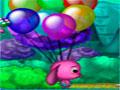 Totos Ballon Ride - Totó perdeu sua coberta e ela está voando pelo céu. Sua tarefa é ajudar a saltar pelas nuvens para alcançar sua manta preferida, mas seja rápido para que ela não vá mais longe.