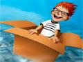 Touch The Sky - Use as invenções do garoto para sobrevoar. Use a estrutura para alcançar a maior distância possível nesse jogo, tenha toda atenção com os obstáculos pelo caminho.