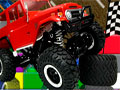 Toy Car Obstacle Course - Controle um carrinho de brinquedo em um mundo cheio de obstáculo. Você tem que ficar o máximo possível na pista sem colidir com nada para passar o estágio.
