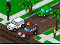 Traffic Command 3 - Você tem que manter o controle no trânsito. Clique sobre o semáforo para os carros andar e parar, quando houver acidente chame reforço e tenha cuidado quando estiver cuidando dos trilhos dos trens.