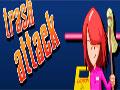 Trash Attack - Você vai precisar ter muita agilidade nesse jogo. Evite ser acertada pelos lixos que estão jogando em sua direção, rebata com sua vasoura o máximo que conseguir para destruir todos e marcar muitos pontos.