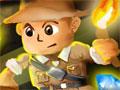 Jogo - Treasure Chain, Ajude um explorador de pedras preciosas a recolher o máximo de tesouros possíveis dentro da caverna. Seja rápido e selecione um grupo de joias para que você consiga elimina-las! Divirta-se com este divertido game de trinca.
