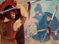 Jogo Troy, Seu castelo esta sendo atacado por um exército inimigo, Recrute novos guerreiros para o combate, Salve a o seu reino de todos os bandidos que querem o seu reinado.