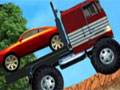 Truck Mania 2 - Pilote um caminhão grande e leve as cargas até o destino. Você poderá escolher o seu transporte, mas tenha cuidado para ao conduzi-lo, mantenha o controle na subida e descida para não ocorrer nenhum tipo de acidente.